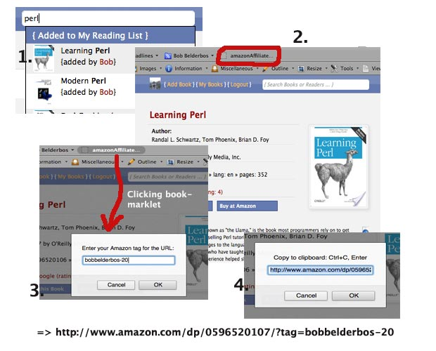 bookmarklet howto