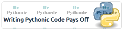 Writing Pythonic code pays off