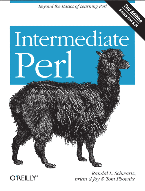 intermediate perl book cover
