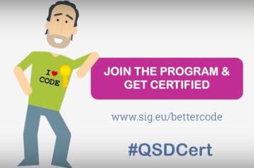 Quality software certificate - join