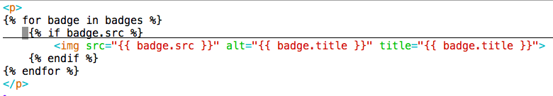 QTLB badge template html