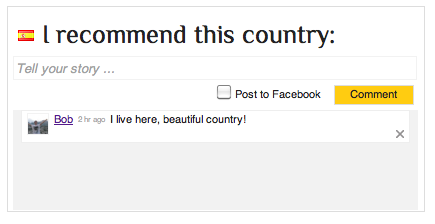 recommend country
